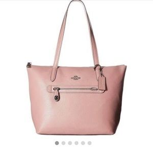 Coach Pebbled Leather Taylor Tote